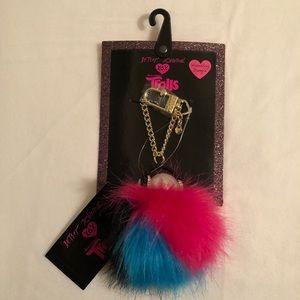 🆕 Betsey Johnson Trolls Handbag Dangle